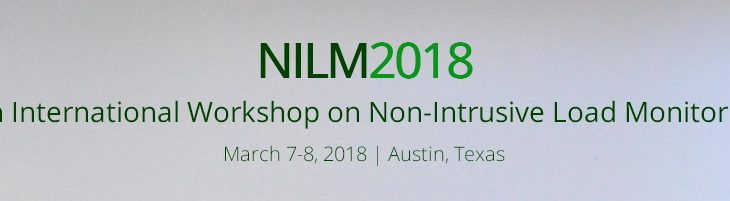 eco-bot acknowledged paper accepted for presentation at 2018 NILM workshop