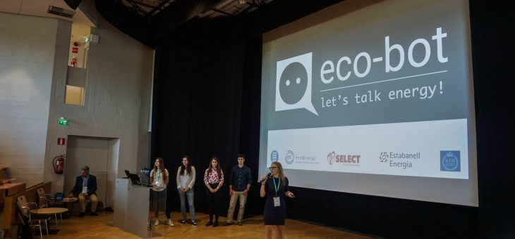 InnoEnergy students from UPC & KTH discuss the eco-bot Project